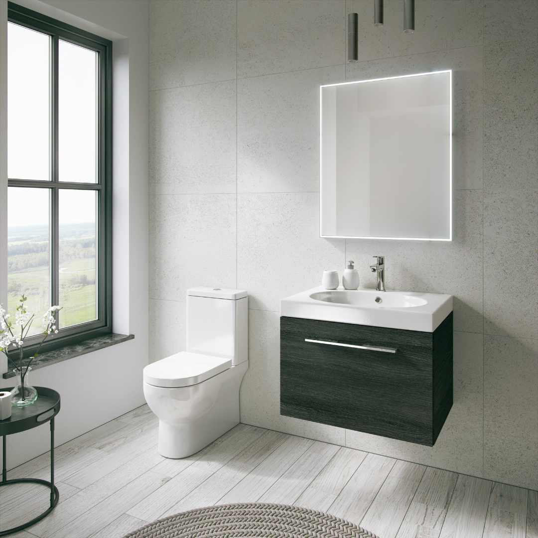 How to Transform a Small Bathroom With Space and Lighting