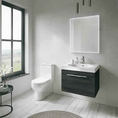 Transform A Small Bathroom With Space And Lighting