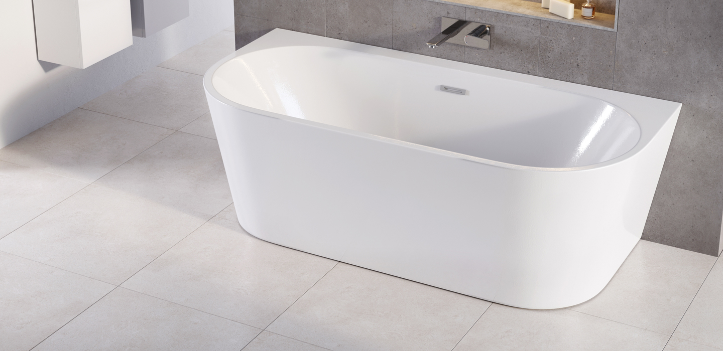 Angelo D Twin-skinned Acrylic Bath