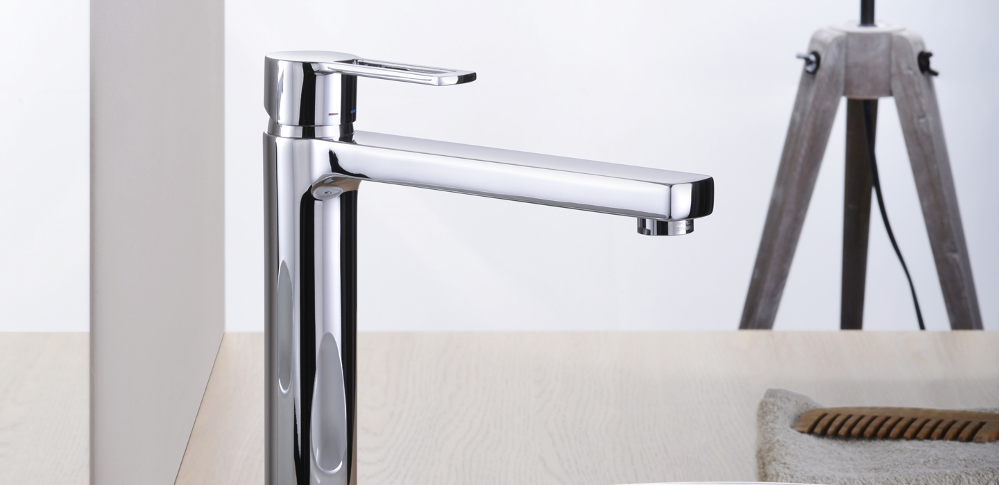 Bavera High Spout Basin Mono Tap