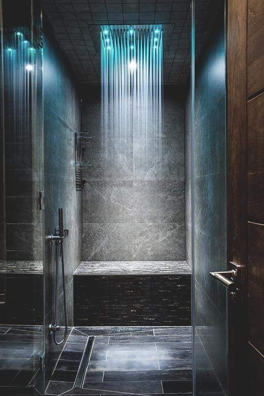 Relaxation - showering experience